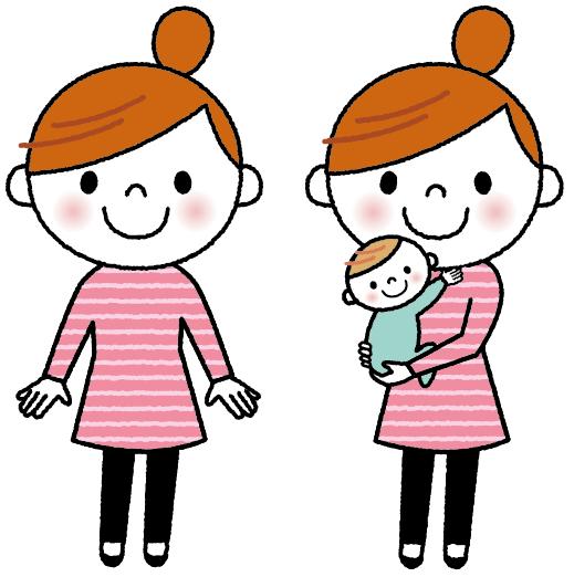 ママのイラスト_バリエーション