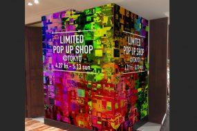 POP UP SHOP装飾にベンリな素材!〜塗装の壁編〜