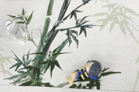 日本的なディスプレイに!竹尾の和紙に大判UVプリント事例