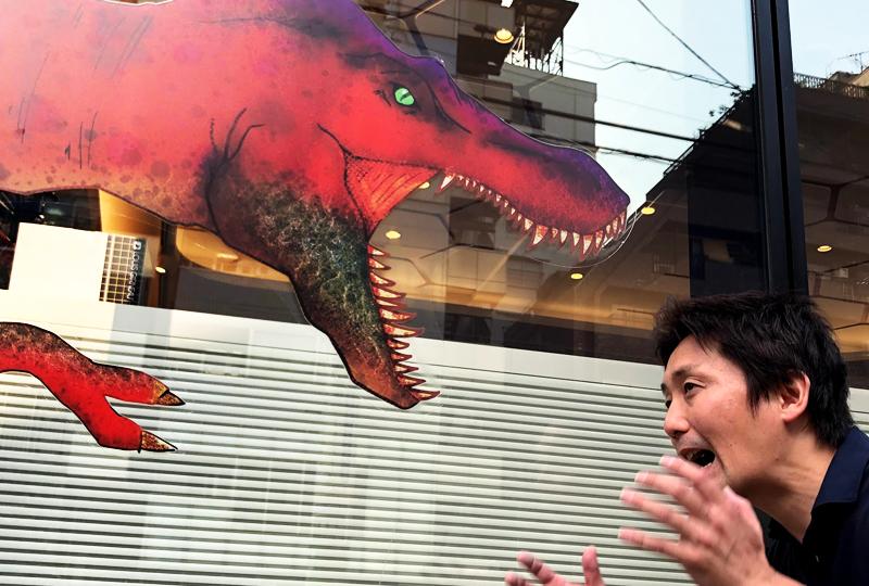 恐竜フォトスポット
