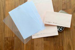 重さを量らないでも郵便料金がわかる! <br>紙、封筒、クリアファイルって何gなの?